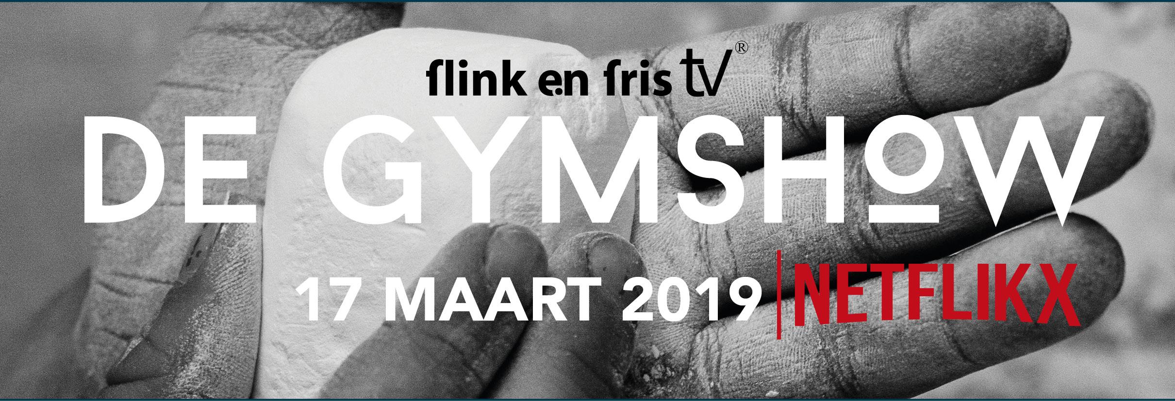 Banner Gymshow Flink en Fris - Netflikx