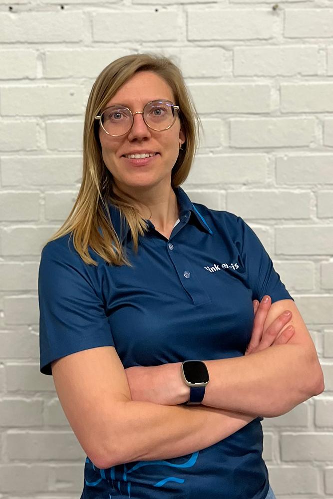 Tania Hoorelbeke - Verantwoordelijke Toestelturnen Recrea en Plus - Marketing en communicatie